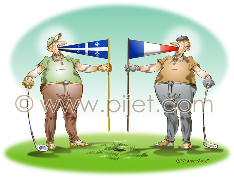 Bilingual Golf