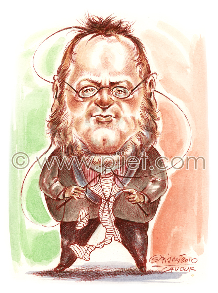 Count Cavour Camille Benso