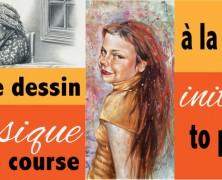 The One on One drawing course  – Le cours de dessin un à un